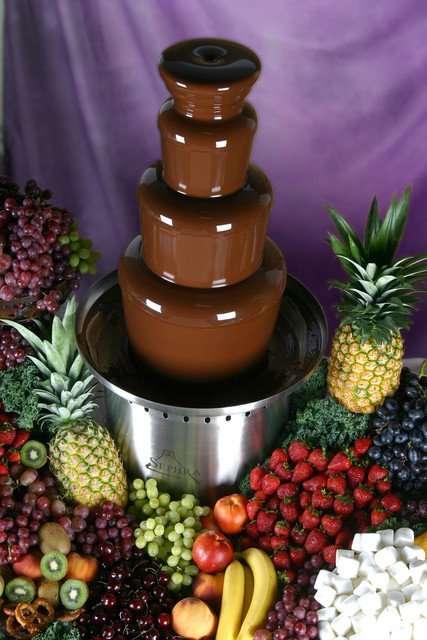 Chocolate Champaign Machine Party Rentals In Miami