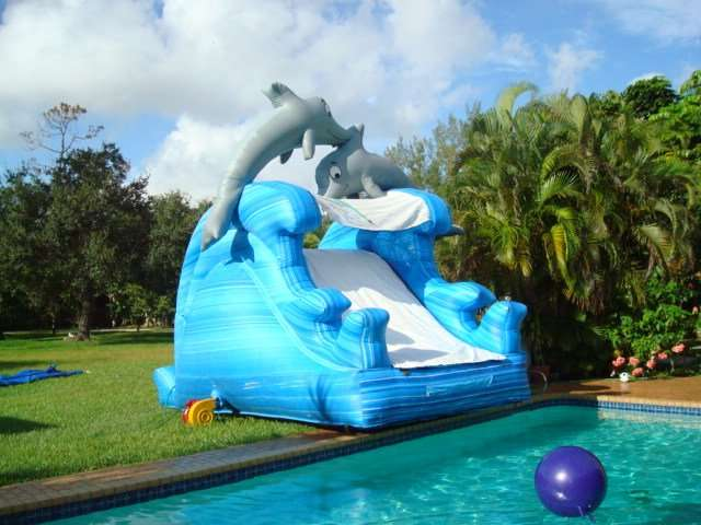 Wet And Dry Slides Rental Miami Party Rentals