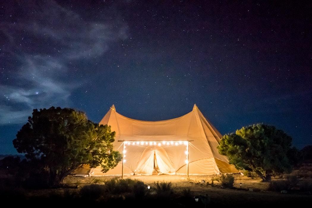 salicloth tent
